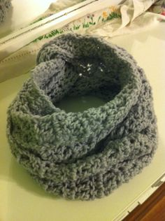 Infinity Scarf doubled