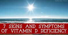 Here are seven signs and symptoms of vitamin D deficiency -- if you think you have any of these, you should get your vitamin D levels tested sooner. http://articles.mercola.com/sites/articles/archive/2014/05/28/vitamin-d-deficiency-signs-symptoms.aspx