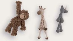 #crochet stuffed animals from the new book Edward's Menagerie