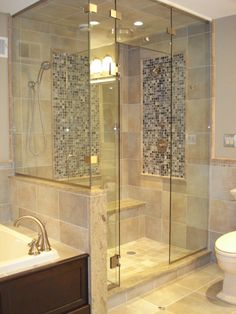 Cool And Contemporary Master Bathroom Shower Another High Impact Budget Friendly Design