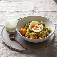 Butternut & Lentil Kedgeree