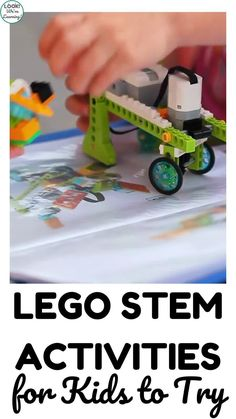 Make STEM into an at-home learning adventure with this list of 20 LEGO STEM activities for kids to try! Preschool Games, Stem Activities, Activities For Kids, Stem Projects, Projects For Kids, Lego Math, Lego Challenge, Stem Learning, Painting For Kids