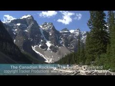 ▶ Banff National Park. The Canadian Rockies. The DVD in a Postcard. Part 1 - YouTube