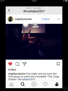 Thoughts on The Cage Fighter film at True/False film fest 2017