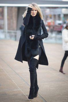 #botasaltas como combinarlas moda #moda #invierno2015