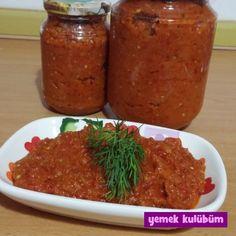 Ajvar Sos nasıl yapılır, Resimli Ajvar Sos yapımı yapılışı, Ajvar sos tarifi, evde kolayca yapabileceğiniz sos tarifleri burada.