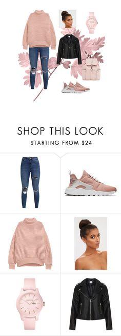 """""""Pink"""" by myriame-t on Polyvore featuring NIKE, Lacoste and Zizzi"""