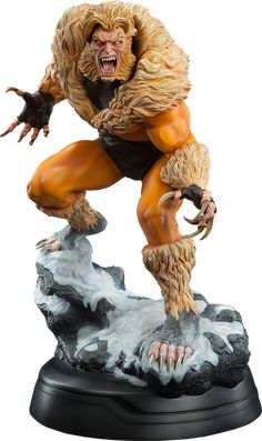 Marvel Sabretooth Classic Premium Format(TM) Figure by Sides | Sideshow Collectibles