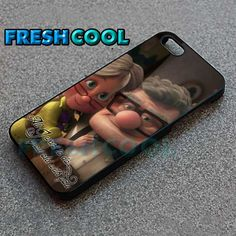 AJ 2062 Romantic Carl And Ellie Up - iPhone 4/4s/5 Case - Samsung Galaxy S2/S3/S4 Case - Black or White by FreshCool on Etsy