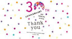 みんなで一緒に楽しむABC クッキングスタジオの30周年カウントダウンスペシャルサイト | 料理教室・スクールならABCクッキングスタジオ Web Design, Japan Design, Logo Design, Sale Banner, Web Banner, Restaurant Promotions, Anniversary Logo, Typo Logo, Article Design