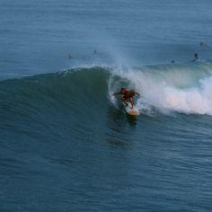 Surfing the Jax Beach Pier