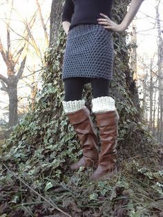 Over the Rainbow and Through the Woods: DIY Crochet Skirt