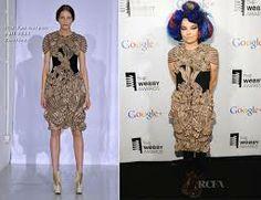 celebrity wearing iris van herpen collection - Google Search