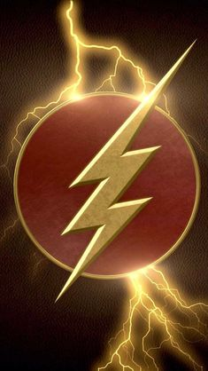 The Flash Logo - Visit to grab an amazing super hero shirt now on sale! Univers Dc, Univers Marvel, Logo Flash, Dossier Photo, The Flashpoint, Flash Wallpaper, Superman Wallpaper, Uhd Wallpaper, Wallpaper Ideas