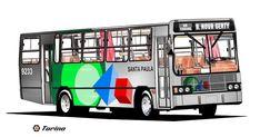 Viação Santa Paula Ltda. Mercedes Benz, Santa Paula, Vintage, Cars, Wheels, Ideas, Aluminum Cans, Transportation