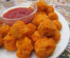 With only 2 ingredients, these Baked Sweet Potato Tots could not be easier to make! They also freeze well so make a big batch and freeze! Kids love them.