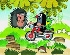 Saturday Morning Cartoons, Krtek the Mole Cartoon Mole, La Petite Taupe, Kitsch, Auto Poster, The Mole, Good Old Times, Saturday Morning Cartoons, Kids And Parenting, Cartoon Characters