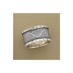 VINCA RING - Rings - Jewelry | Robert Redford's Sundance Catalog via Polyvore