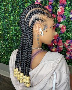 Feed In Braids Hairstyles, Black Girl Braided Hairstyles, Baddie Hairstyles, My Hairstyle, Girl Hairstyles, Weave Hairstyles, Dreadlock Hairstyles, School Hairstyles, Hair Updo