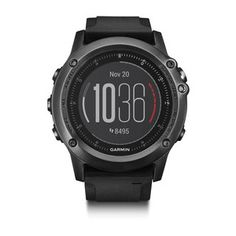 fēnix® 3 HR multisport training GPS watch combines rugged good looks with fitness training performance, which includes Elevate™ wrist heart rate technology.