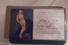 Earl Moran pin up advertising Wringing the Belle Robert custom Tailors 31/2by 6 #EarlMoranpinup Two not been opened