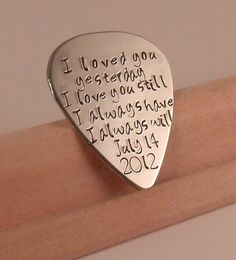 This would be great idea for a anniversary present (: