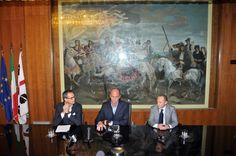 Conferenza Stampa | Cagliari 20.12.2013 | Flavio Manzoni, Ugo Cappellacci, Gabriele Cestra.