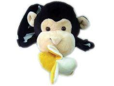 Baby Sherpa Safe2Go Child Safety Harness Backpack - Monkey w/ Banana