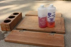Need to get rid of the mold under your varnish?  Bleach alone won't kill it - try Snappy Teak-Nu.  commuterCRUISER.com