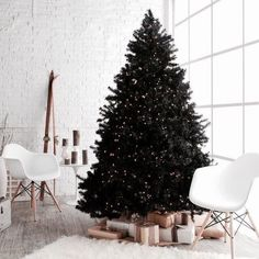 minimal christmas decor (chrismas party ideas elegant)
