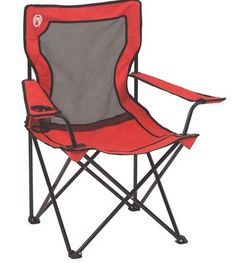Bring a comfortable seat with you to the campsite with the Coleman Broadband Mesh Quad Camping Chair. Ideal for camping, picnics, or backyard barbeques, this versatile folding chai Outdoor Folding Chairs, Folding Camping Chairs, Camping Furniture, Outdoor Furniture, Wood Furniture, Office Furniture, Furniture Ideas, Apartment Furniture, Cheap Furniture