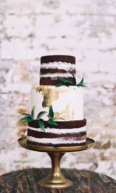 36 Rustic Wedding Cakes We Love #weddinginspiration