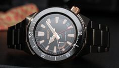 """Seiko Prospex 200M Spring Drive GMT Watch Hands-On - by Ariel Adams See it close up at: aBlogtoWatch.com """"Seiko quietly added a new version of its new Prospex 200M Diver watch with the reference SBDB017 and SBDB018 models recently. What's interesting for me is that this is among the rare occasions that Seiko has used one of its higher-end Spring Drive movements in an otherwise mid-range collection. Even the basic three-hand version of this generation Prospex 200M Diver costs about $1,000…"""