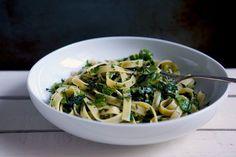 Herb-Crushed Pasta recipe on Food52