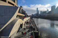 Melbourne Snaps: Melbourne Viewed from Princes Bridge