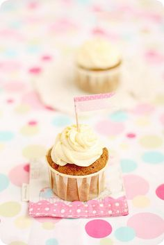Carrot Cupcakes by bossacafez, via Flickr