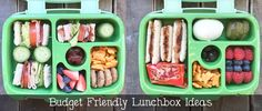 Let's NOT blow the food budget. Here are my budget friendly lunchbox ideas!