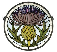 GLASS MINIATURE PATTERN STAINED WINDOW | Free Patterns
