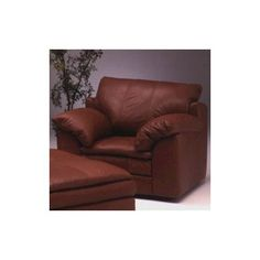 Omnia Leather Encino Leather Chair Color: Dream - Coffee