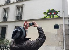 Interesting one by street_art77 #spaceinvader #unas (o) http://ift.tt/2eU9KZd chasseur sachant flasher... PA-1196 by @invaderwashere s paris artiste aroundtheworld saroundtheworld #invader #invaders #invaderartiste #invaderparis #street #streetart #streetartparis #paris #flashinvaders #protect_them #InvaderWasHere #pa_1196 @ainvader