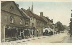 Church Street, Newent, Gloucestershire. pu 1944. Some of my ancestors were from Newent - if you're researching the surnames Leighton or Layton, do get in touch! esjones <at> btopenworld.com