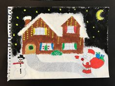 Sophie, aged 16 #Crafting #Christmas #ChristmasCrafts #LancsFostering