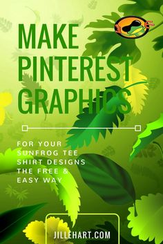Make Pinterest Graphics using Sunfrog tee shirts new promo image tool & Canva for free - Video directions