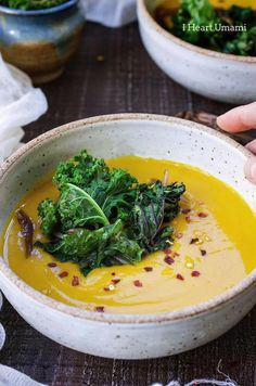Turmeric Ginger Kabocha Squash Soup