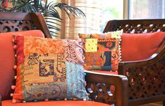 kantha cushions at shilparathi.com