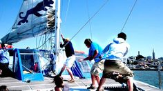 Adventure Cat Sailing Charters | Catamaran Sailing in the San Francisco Bay