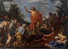 Predicación de San Juan Bautista (Pier Francesco Mol