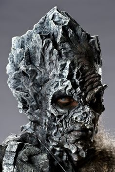Face Off Season 4 / Makeup Mountain Goblin King Movie Makeup, Makeup Art, Sfx Makeup, Maquillaje Face Off, Face Off Makeup, Face Off Syfy, Prosthetic Makeup, Monster Makeup, Fantasy Make Up