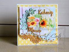 Art-Carta  : Słoneczna kartka dla Mamy
