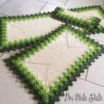 JOGO DE COZINHA  FOLHAGEM (Greenery) Baby Coat, Crochet Projects, Outdoor Decor, Pictures, Youtube, Cute Crochet, Crochet Designs, Dresses For Girls, Cute Blouses